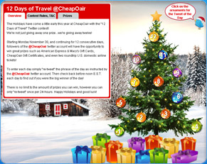 12 Days of Travel @Cheapoair