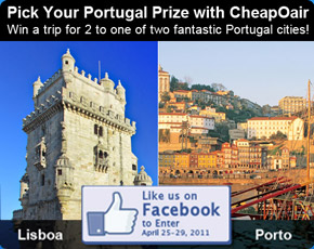 Pick Your Portugal Prize with CheapOair