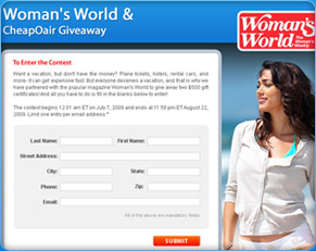 Woman's World Giveaway